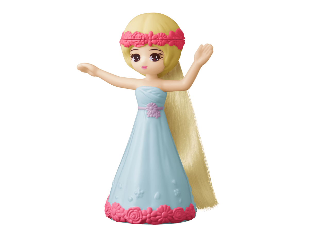 【第1弾】フラワーポニーテール リカちゃん