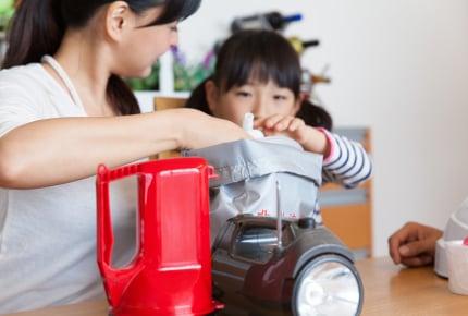 【災害対策:第3話】大規模災害に備える!小さな子どもがいる家庭で準備すべきアイテムは?