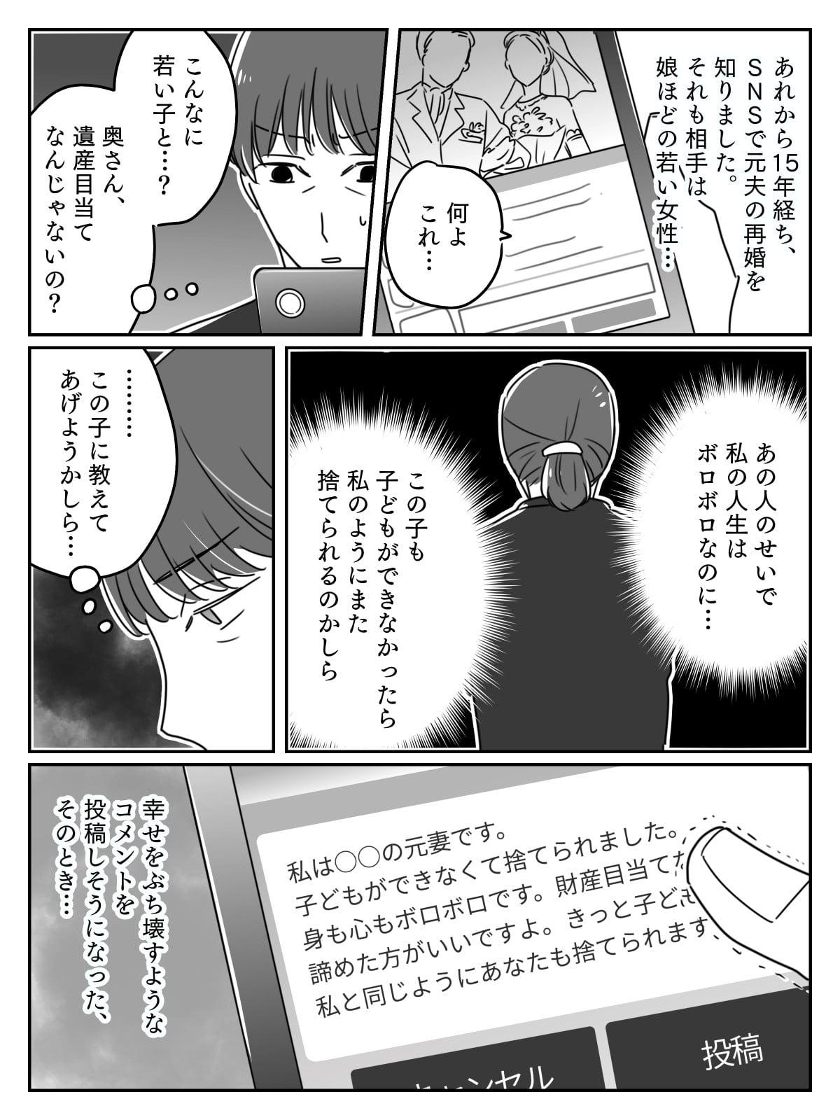 【前編】50代の元夫が20代女と再婚!