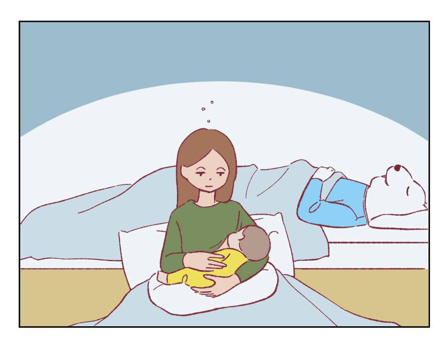 96話 夜間授乳と夫2