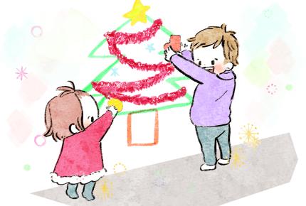 クリスマスに手作りツリーはいかが?冬ならではのおうち時間の楽しみ方