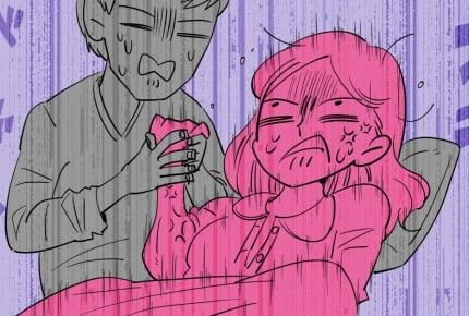 【前編】立ち合い出産をした旦那が、突然吐いた!呆れるやら情けないやら……