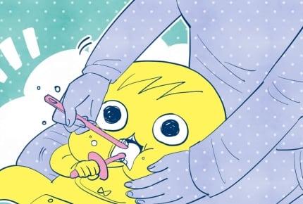 歯磨きを嫌がって暴れる2歳の娘。どうやったらすんなり歯磨きさせてくれる?