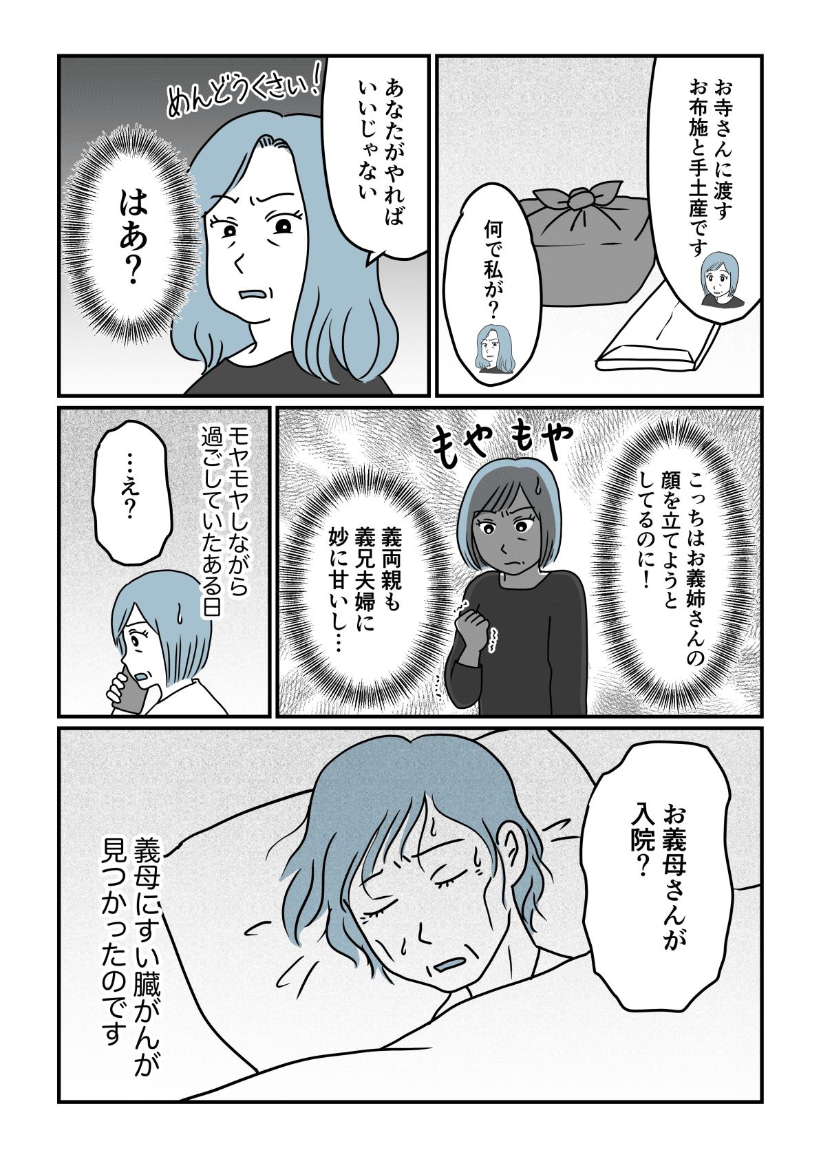 丸投げ義実家前編3