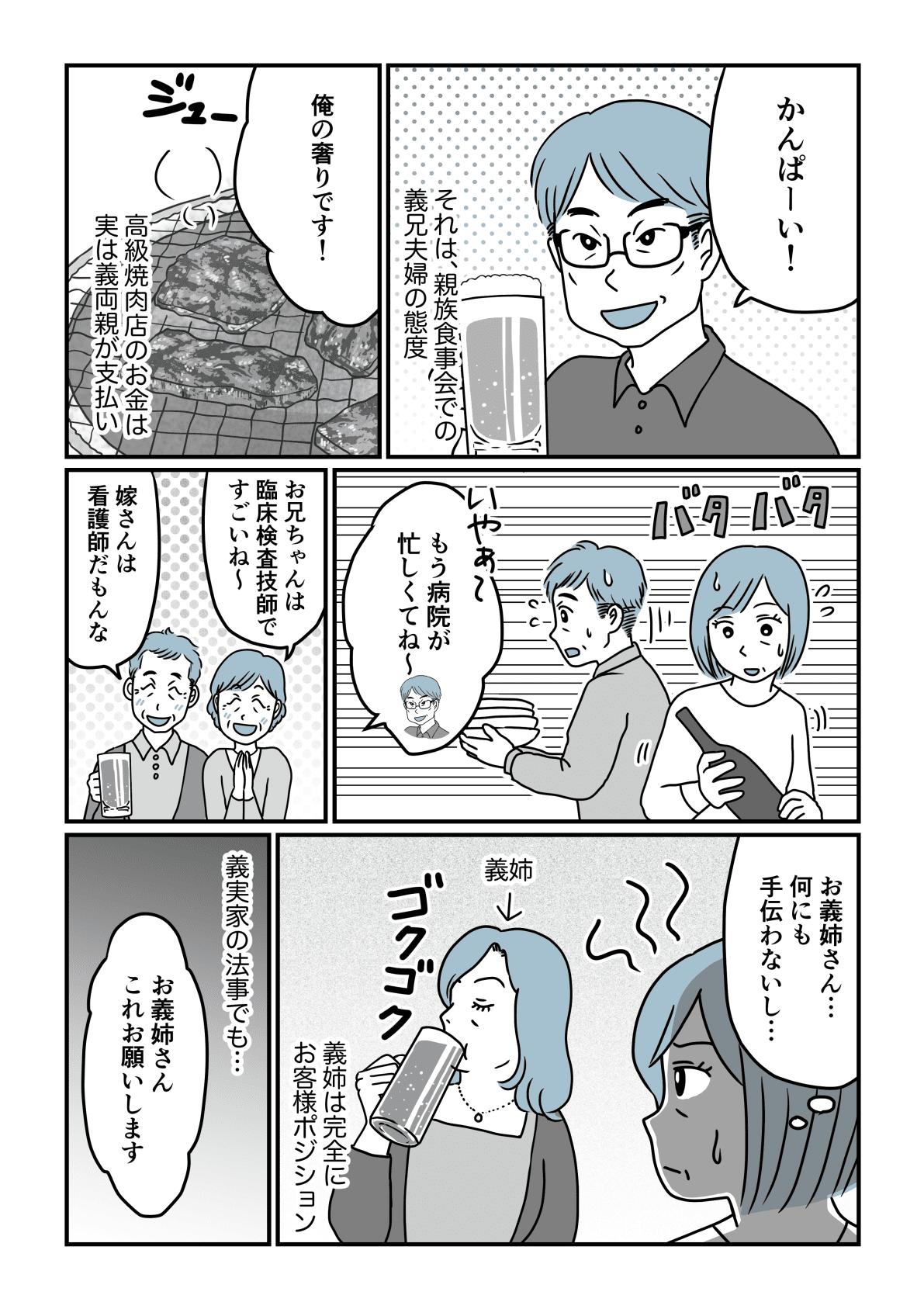 丸投げ義実家前編2