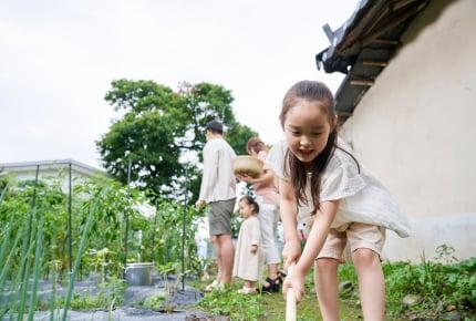 【子どもと一緒に楽しむ家庭菜園03】重要な「土づくり」は子どももできるおもしろい作業