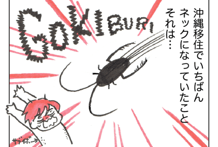 【沖縄でワンオペ41話】沖縄では不可避の「G」!虫対策に役に立った家電とは……? #4コマ母道場