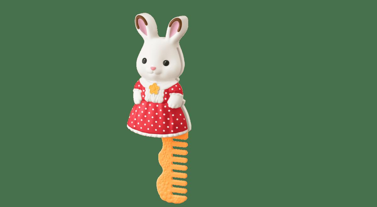 【第2弾】ショコラウサギの女の子 コーム