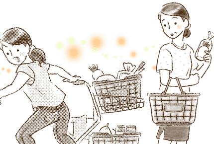 買い物カートに乗りたがらない2歳児。スマホで動画を見せて静かにさせるのはアリ?