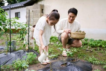 【子どもと一緒に楽しむ家庭菜園05】毎日のお世話も楽しめる!水やりは、ときに事件に発展!?