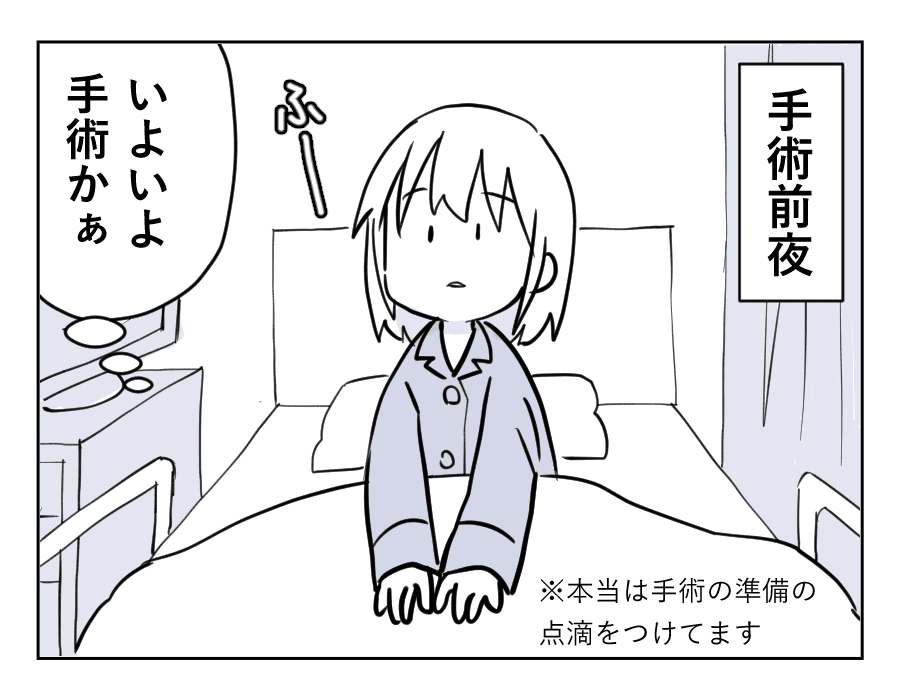 子宮全摘出レポ11-1