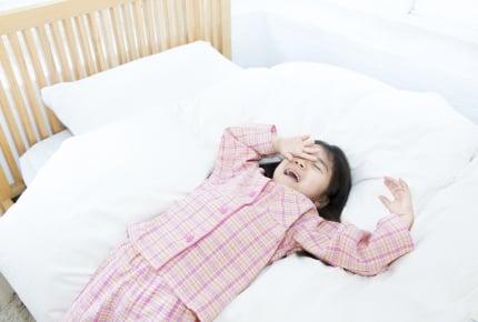 小学生の就寝時間は何時が最適?休日の起床時間は要注意!