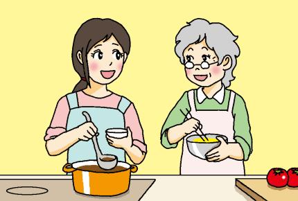 あなたのお義母さんは料理上手ですか?料理下手な義母が与える意外な影響とは