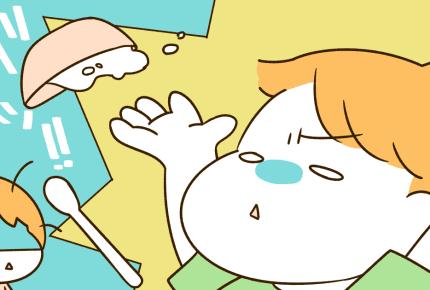 離乳食をひっくり返されてキレそう……ラクになる方法はない?