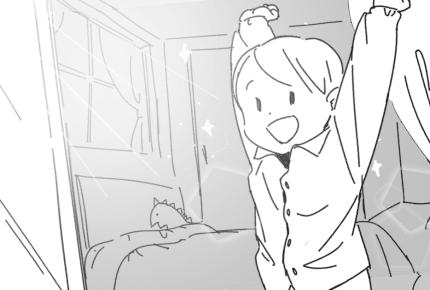 お子さんはパジャマを着て寝ていますか?それとも洋服で寝ていますか?