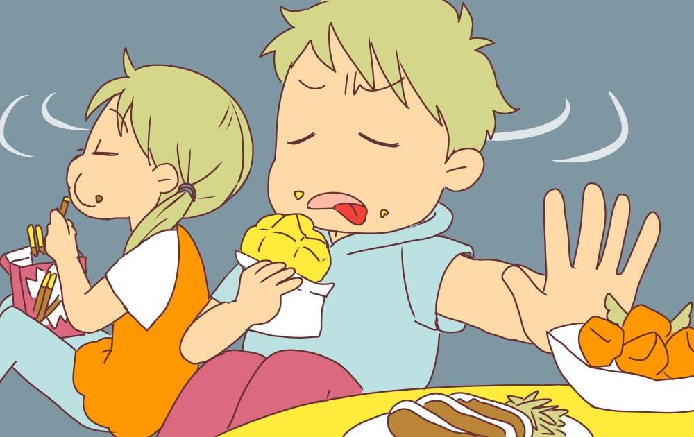 「ご飯がまずい」と言って食事を残したり食べない反抗期のわが子。子どもにどう接すればいい?1