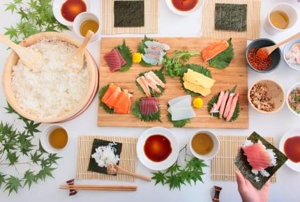 <本日のごちそう案>手巻き寿司にどんな具材を入れますか?「うちの手巻き寿司」を大公開!