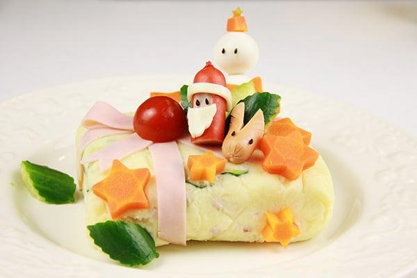クリスマスレシピ☆ポテトサラダのプレゼント