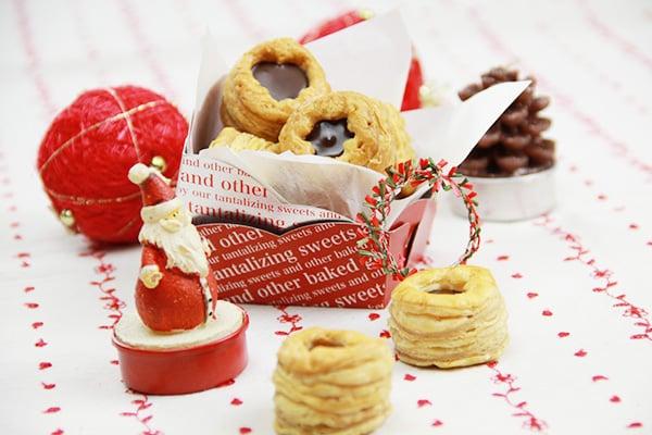 クリスマスシーズンのおやつに!簡単チョコパイ