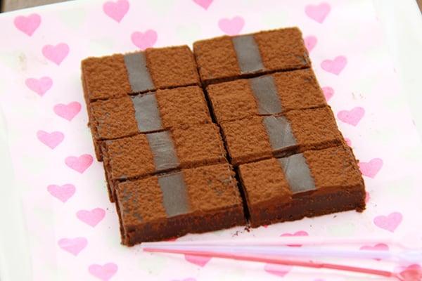 バレンタインレシピ☆簡単生チョコ
