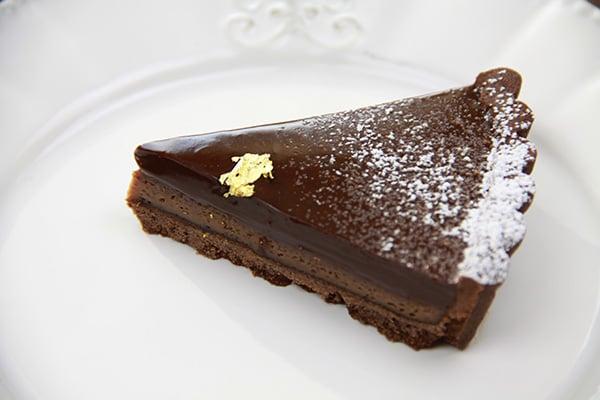 バレンタインレシピ☆チョコレートタルト