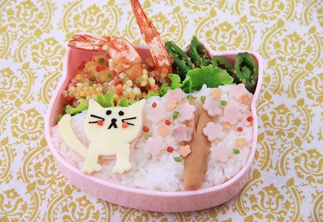 猫のピクニック弁当