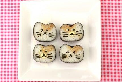 子供が喜ぶ!ねこの飾り巻き寿司レシピ
