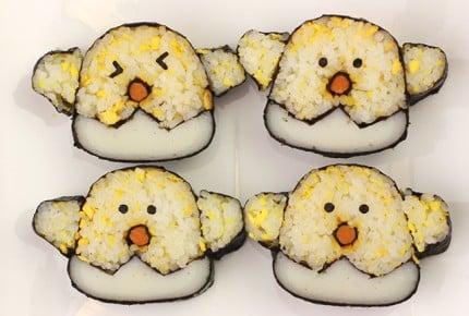 子供が喜ぶ!ひよこの飾り巻き寿司レシピ