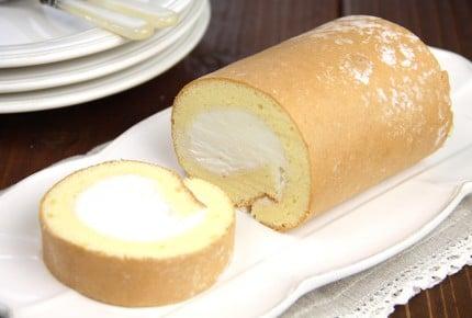 【ホットケーキミックスで作れる!絶品ロールケーキ】