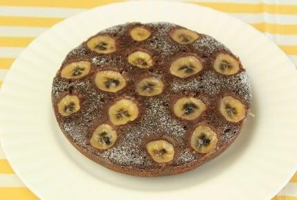 簡単!炊飯器で作れる☆濃厚チョコバナナケーキ