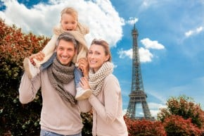 family tourism paris france