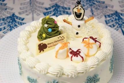今年のクリスマスはアナと雪の女王、オラフのケーキを作ろう!