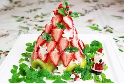 簡単なのに可愛い!クリスマスツリーの立体ケーキの作り方