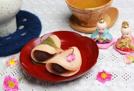 桜餅は関東と関西で違う!?簡単ひなまつりの関東風桜餅!