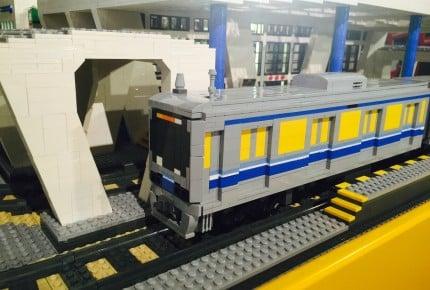 『レゴ®シティトレインワールド』がオープン! イクメン織田信成さんが1日駅長として登場!