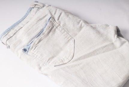 春は子どもだって白デニム!履かせても汚れ大丈夫?