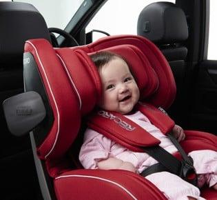 レカロから新発売!赤ちゃんの安全を第一に考え開発されたチャイルドシート