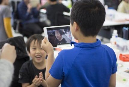 子供が大人顔負けのゲーム作り!?プログラミング体験でメキメキ上達