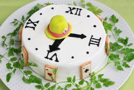 【アリス・イン・ワンダーランド再現】時計のケーキが可愛すぎ!