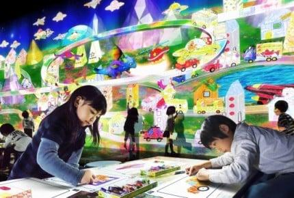 【北関東】デジタル×アートが融合した「未来の遊園地」で遊ぼう!チームラボアイランドin前橋